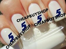 Top Quality》NASCAR RACING》KASEY KAHNE RACE CAR DRIVER #5》Tattoo Nail Art Decals