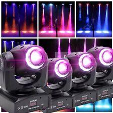 4PCS 80W 8Pattern Spot LED RGBW Stage Light DMX512 Wedding Moving Head Lighting