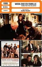 FICHE CINEMA : WEEK-END EN FAMILLE - Hunter,Foster 1995 Home For The Holidays