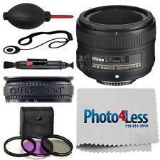 NEW Nikon 50mm f/1.8G AF-S NIKKOR Lens for DSLR Cameras + Complete Accessory Kit