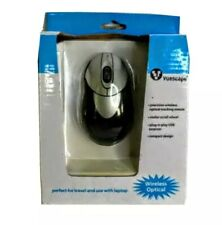 Wireless Mini 3 Button Optical Mouse Mice For PC Laptop Notebook USB Receiver