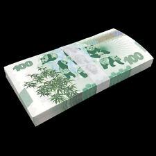 Bundle Lot 100 PCS, China 100 Yuan, 2020, Panda, Commemorative Test Note, UNC