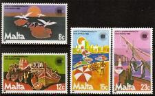 Malta Mnh 1983 sg708-711 día de la Commonwealth Set De 4