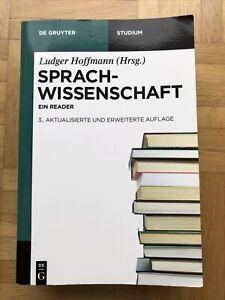 Sprachwissenschaft Ein Reader Ludger Hoffmann De Gruyter Studium Lehrbuch Buch