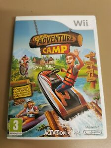 Cabela's Adventure Camp for Nintendo Wii 4 players Fun Party Game