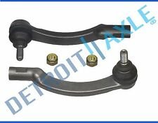 New Pair (2) Front Left & Right Outer Tie Rod End Links for Volvo S70 C70 S90