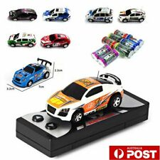 Children Coke Can Mini RC Car Remote Control Micro Racing Car gift for  P7♬
