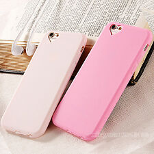 New Slim Soft Rubber Silicone Gel Back Case Cover For Apple iPhone 5 6S 7 7 Plus