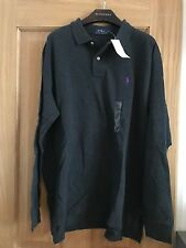 BNWT Ralph Lauren Mens Longsleve Polo Shirt RRP £80 Size M 100% Genuine