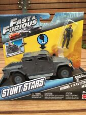 NEW Fast & Furious Stunt Stars Hobbs And Navi Star MXT With Launch