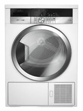 Grundig GTN38250HGCW Heat Pump Tumble Dryer - 8KG, White