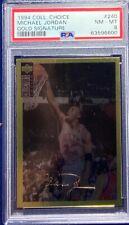 Michael Jordan 1994 Collector's Choice Gold Signature #240 PSA 8 RARE Pop 26