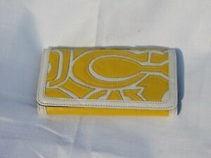 Yellow TriFold Wallet