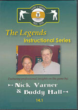 Legends Instructional - Nick Varner & Buddy Hall - Straight Pool - Pro Insights!