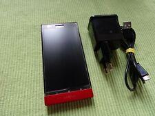 Sony  Xperia P LT22i - 16GB - Rot (Ohne Simlock) Smartphone Top Zustand