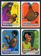 Papua New Guinea 508-511, MNH. International Child Year.Dog, Mother & child,1979
