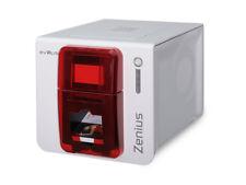 EVOLIS Zenius Kartendrucker Classic Rot ZN1U0000RS %7c Plastikkartendrucker %7c NEU!