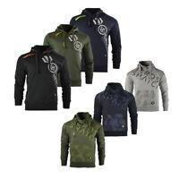 New Mens Crosshatch Designer Casual Pullover Hoodie Sweatshirt