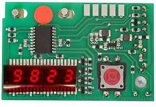 "Counter red Zähler rot Revox B77 ohne Nullunterdrückung 5,1mm 5,08 mm 0,2"" Höhe"