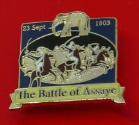 Danbury Mint British Victory Enamel Pin Badge The Battle of Assaye Elephant