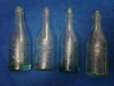 4 Vintage Grand Rapids Wisconsin bottling works 7 oz beer soda bottles