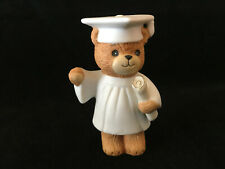 Lucy & Me Graduation Day Bear With Cap Robe & Diploma Lucy Rigg Enesco 1982
