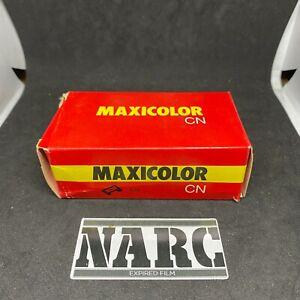Maxicolor CN 100 ISO 126mm Expired film fuji kodak agfa pocket lomo