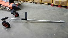 Hot Dipped Galvanized Boat Dolly with 15'' Launching Wheels for small boats