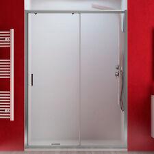 Nicchia scorrevole 100 cm porta doccia cristallo temperato trasparente 185 h new