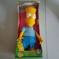 "Talking Bart Simpson 18"" INCHES"