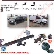 AHK ES13 Mercedes Vito W639 Bj.2003-2014 Anhängevorrichtung Anhängerkupplung NEU