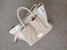 See By Chloe Logos 2Way Shoulder Hand Bag Leather Pink NWT