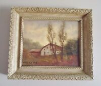 """ORIGINAL """"LANDSCAPE"""" SIGNED AND FRAMED PAINTING BY CEREDA ITALY"""