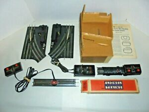 LIONEL BIG TRACK LOT WITH SWITCHES & REMOTE TRACK SECTIONS 0/27 POSTWAR VINTAGE