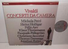 411 356-1 Vivaldi Concerti Da Camera Petri Holliger Ayo Demenga Pellegrino 2LP