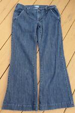 """Old Navy The Flirt Blue Jeans Size 4 Short  (31x28) 8"""" Rise Cotton Blend"""