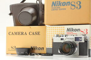 """[Unused in Box ] """"read"""" Nikon S3 Year 2000 Limited Edition 50mm f1.4 From JAPAN"""