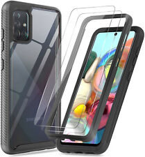 For Samsung Galaxy A51 A71 A20S A21 A11 Shockproof Case Cover/Screen Protector