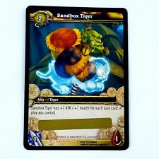 New listing World of Warcraft WoW Tcg Loot Card Sandbox Tiger New