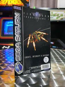 Firestorm Thunderhawk 2 - Sega Saturn Game Manual