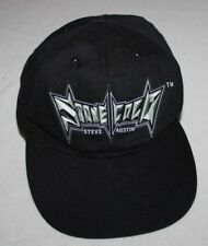 f741c1d4 Stone Cold Steve Austin Hat WWF Black Bad to the Bonz Youth? Adjustable  Snapback