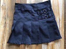 FRENCH TOAST Girl Uniform Skirt Navy Size 7