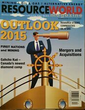 Resource World Magazine Outlook 2015 Gahcho Kué Dec Jan 2015 FREE SHIPPING