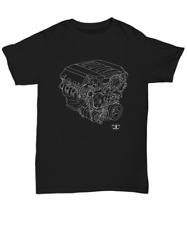 Engine Blueprint LT1 V8 shirt - Unisex Tee