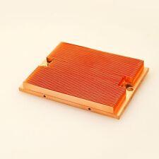 "Pure Copper Heat Transfer Heatsink 3.85""L x 2.85""W x 0.4""H"