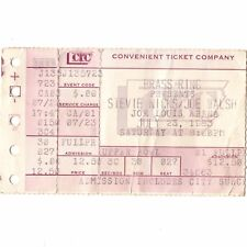 STEVIE NICKS & JOE WALSH Concert Ticket Stub DETROIT 7/23/83 FLEETWOOD MAC Rare