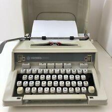 Vintage HERMES 3000 Portable Typewriter w/ Case Lithuanian Keyboard