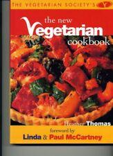 The Vegetarian Society's The New Vegetarian Cookbook,Heather Thomas,Linda & Pau