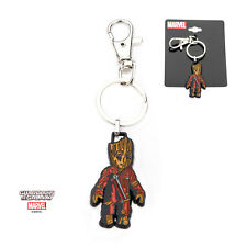 OFFICIAL MARVEL COMICS - GUARDIANS OF THE GALAXY GROOT ENAMEL KEYRING (NEW)