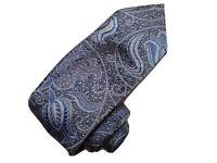 NEW Robert Talbott XL🥇Estate🥇 💯% Silk Paisley Neck Tie 195$ Retail💰 NWT